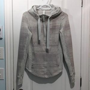 LULULEMON Lululemon Post Sweat Pullover Heathered Grey size 4